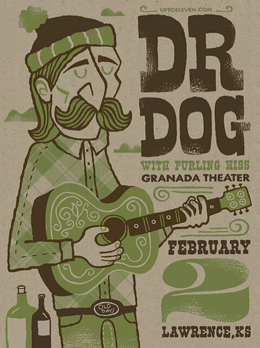 Dr. Dog Poster | by tad carpenter