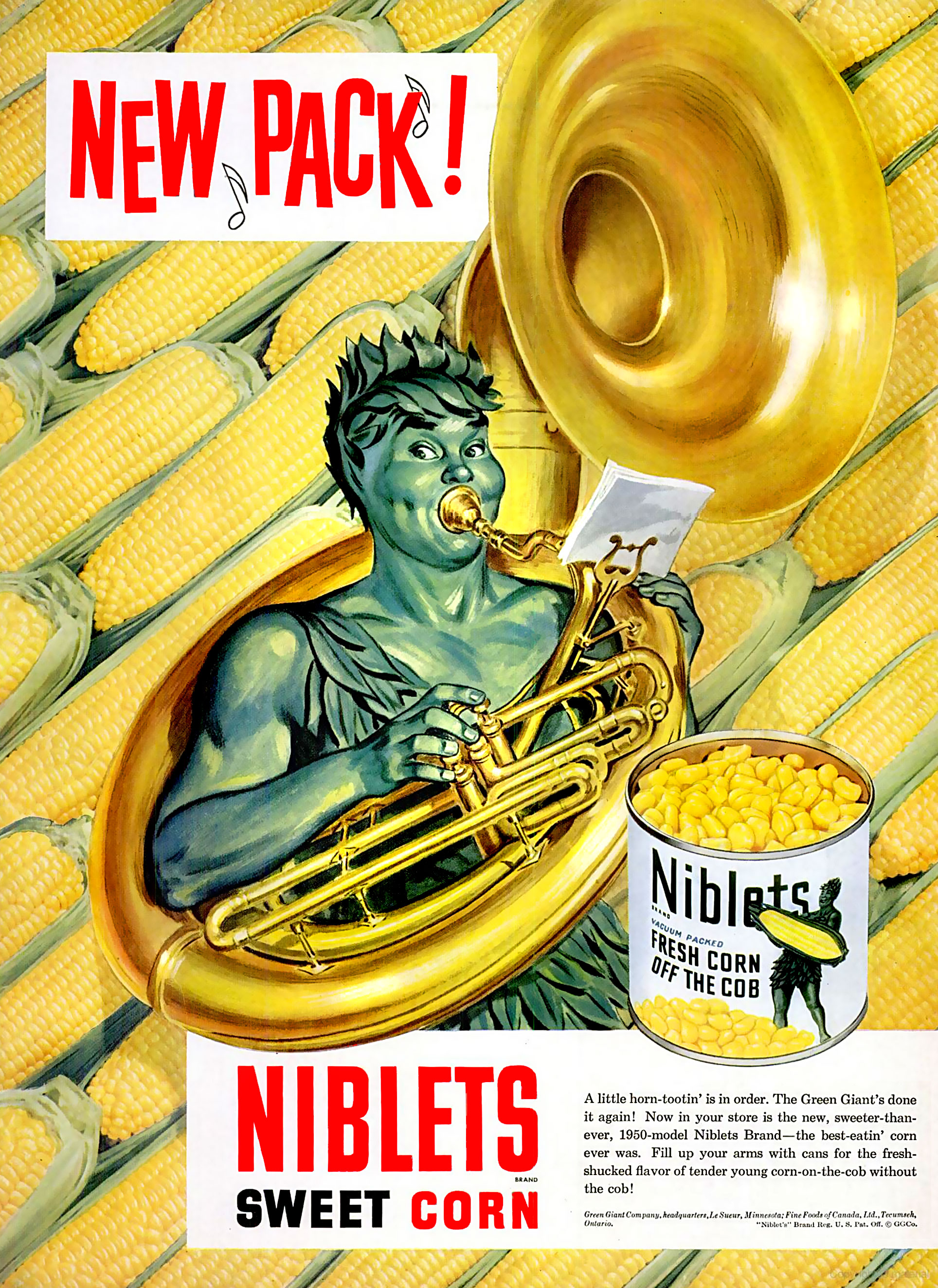 Green Giant Company Niblets - 1950