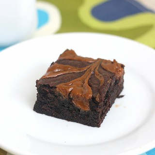 Dulce de Leche Brownies | by Tracey's Culinary Adventures