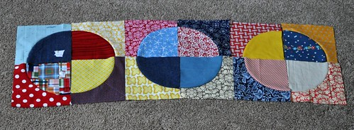 circle quilt progress | by vickivictoria