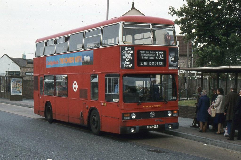 London Transport T2 Thx402s Romford 08th September 1