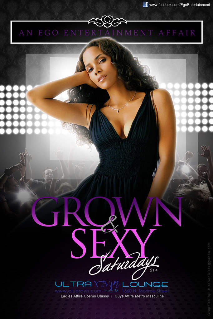 grown and sexy flyer