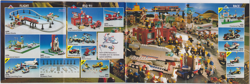 1992 Lego Catalog Pages 14 And 15 Jared Carlson Flickr