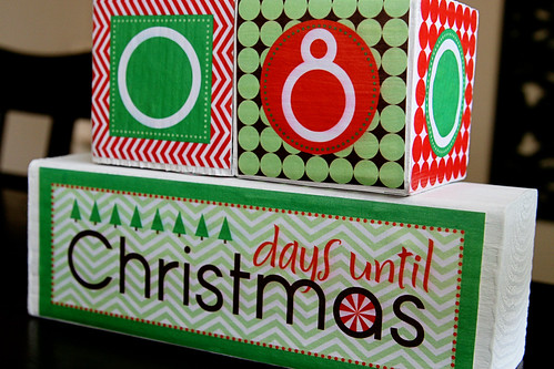Christmas Countdown Blocks 2 | Flickr - Photo Sharing!
