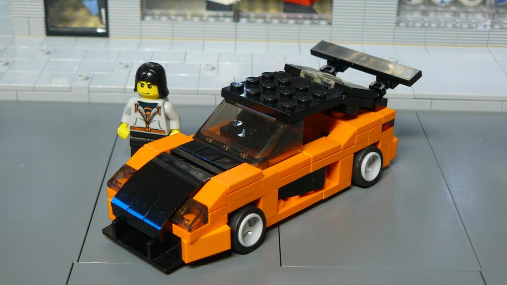Как сделать машину из лего из форсажа