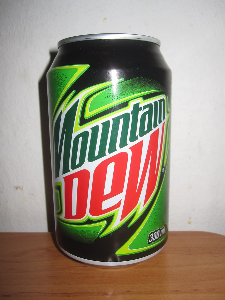 Image Gallery mountain dew can