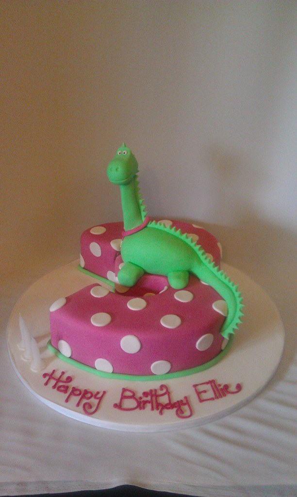 Dinosaur Birthday Cake Cupcakes