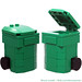LEGO Recycling Bin (Green)