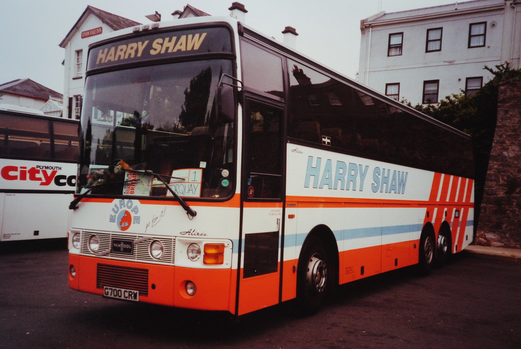 HARRY SHAW | G700 CRW Volvo Van Hool seen in Torquay. | Secret Coach Park | Flickr