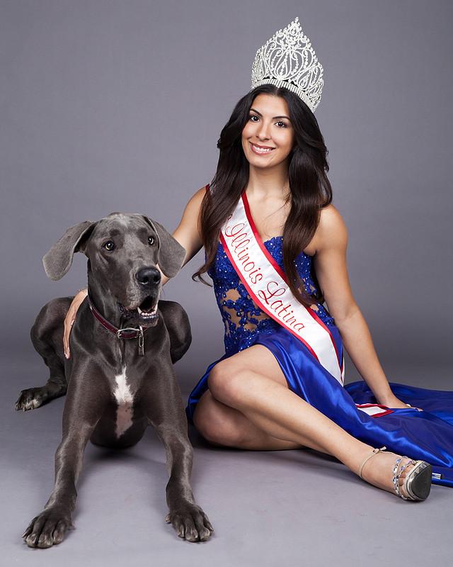 Miss Illinois Latina The Result Of An Odd Street