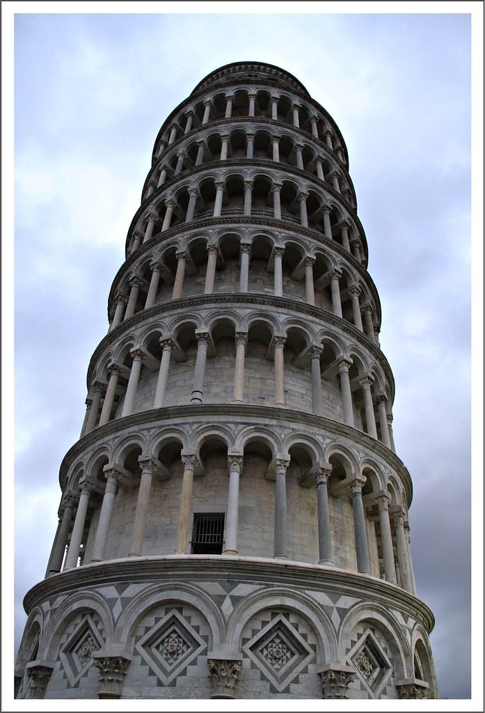 foto de Torre de Pisa La Torre de Pisa o Torre inclinada de