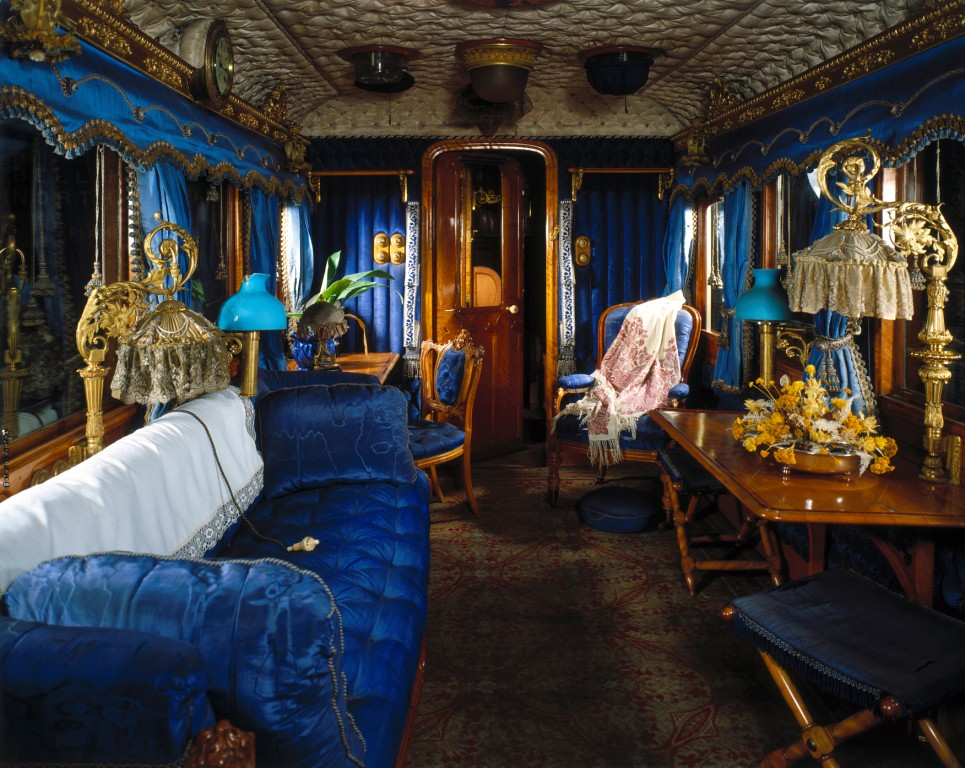 interior of queen victoria 39 s carriage national railway m flickr. Black Bedroom Furniture Sets. Home Design Ideas