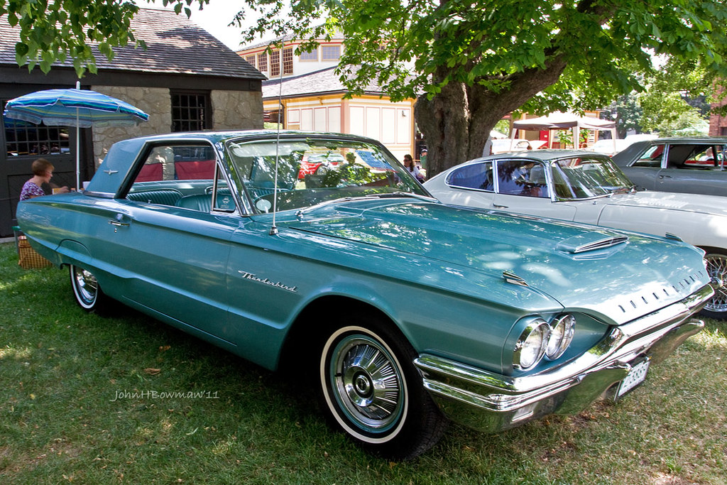 1964 Thunderbird From The First Year Of The Third