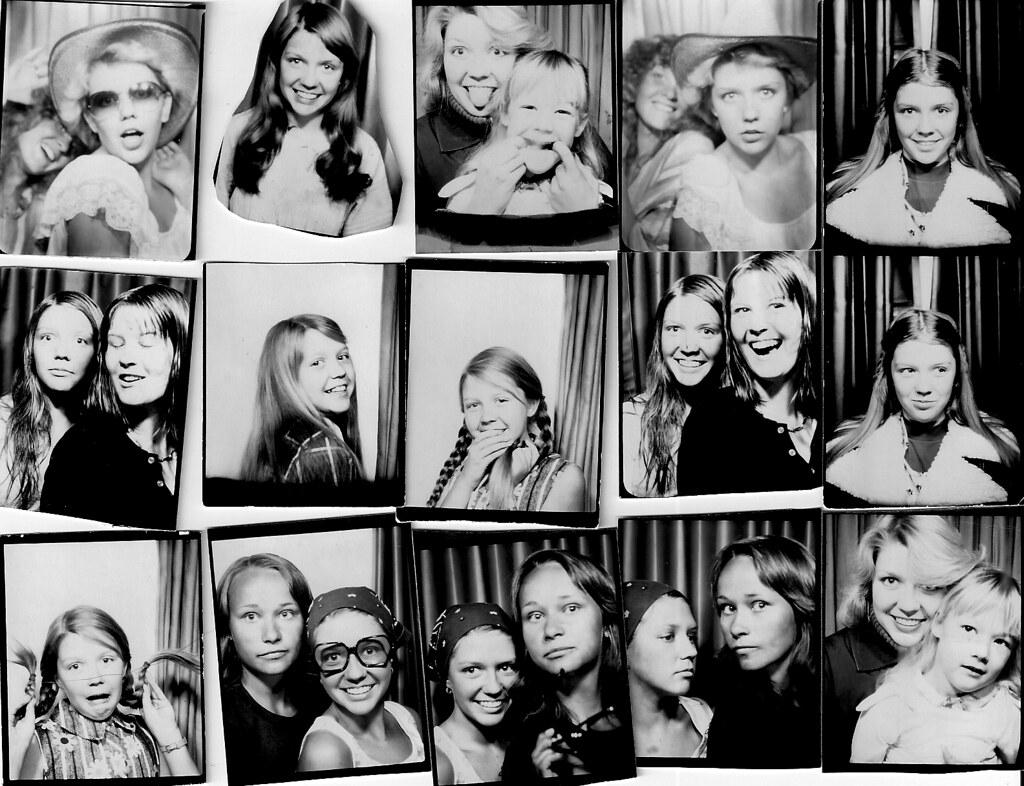 Photobooth Fun Through the Years   1970's-Photobooth at ... Robert Pattinson