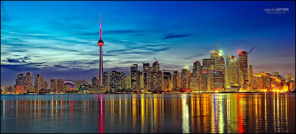 Toronto Skyline (Explore #433 - January 27, 2012)   Thank ...