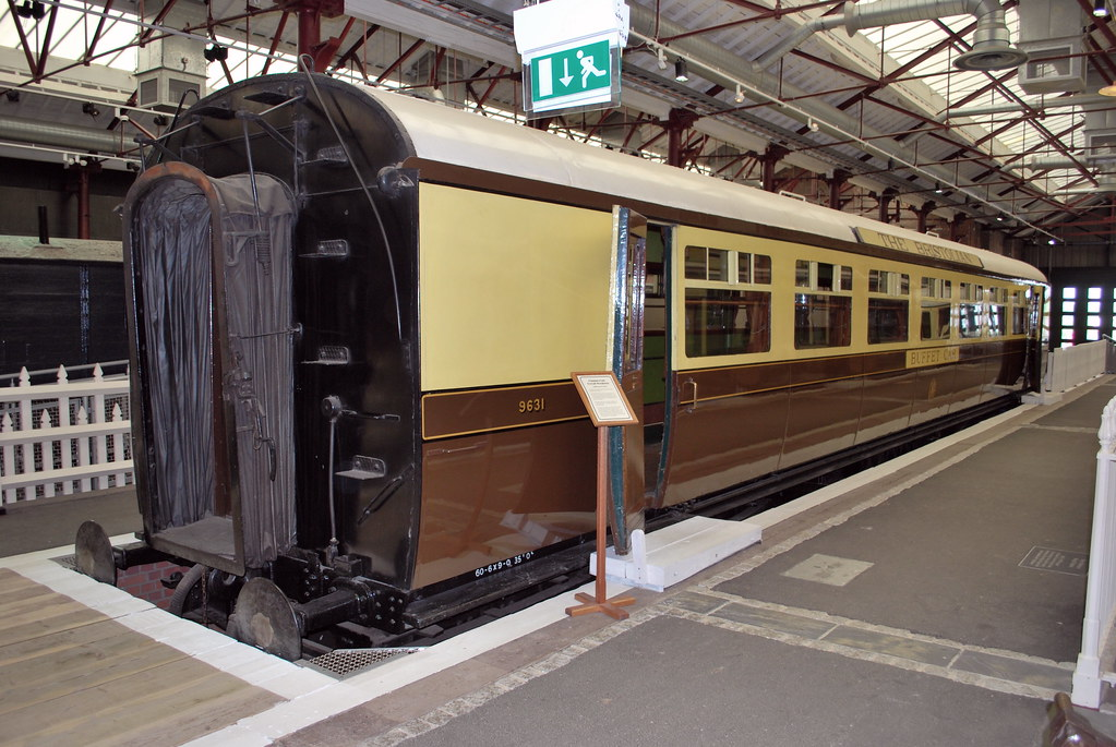 gwr collett 57 buffet car no 9631 gwr collett 57