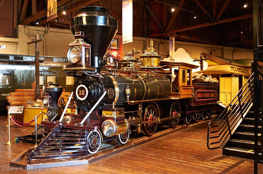 North Pacific Coast Railroad No 12 Sonoma Built In 1876