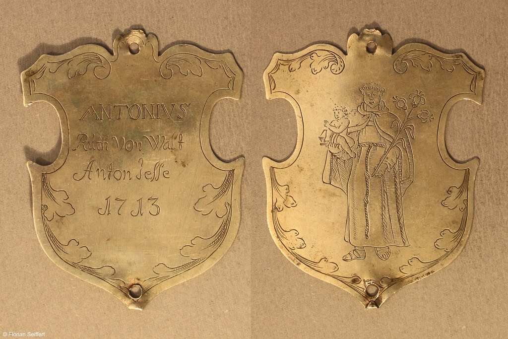 Koenigsschild Flittard von ruth von wald  jesse anton aus dem Jahr 1713