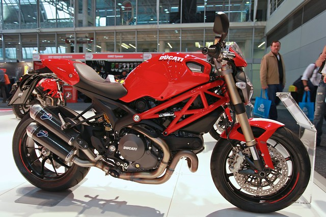 Ducati Monster Termignoni Install