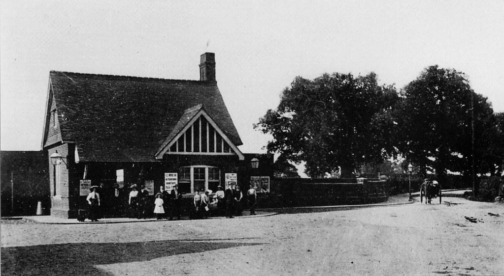 Maldon West Station 1910 | Maldon West railway station ...