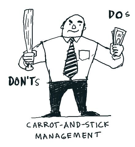 Carrot-and-stick management | by dgray_xplane