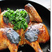 flattened chicken with parsley sauce10