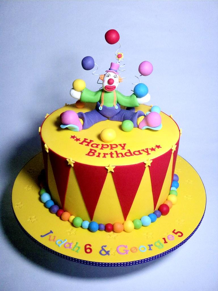 Clown Cake Pan