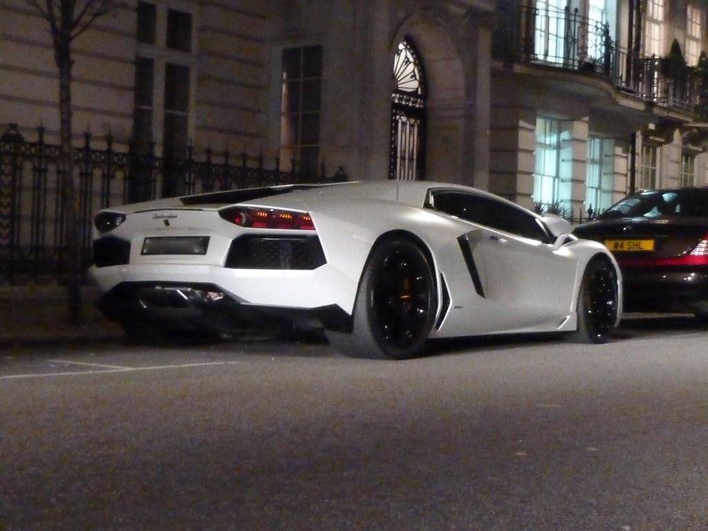 Lamborghini Aventador Matte White Lp700 4 Ben Flickr