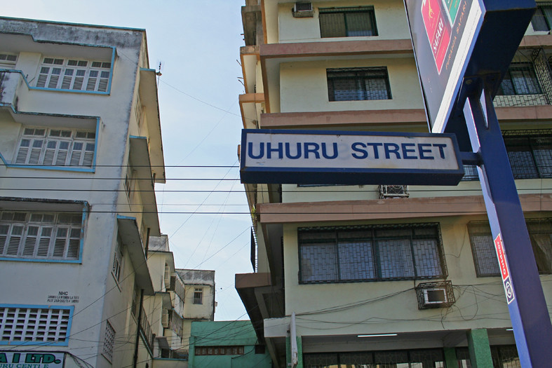 Image result for UHURU STREET