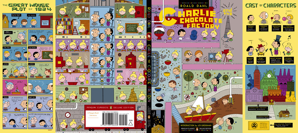 charlie and the chocolate factory full cover by ivan brune flickr