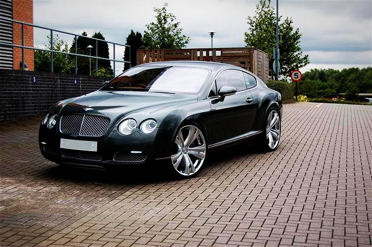 2010 Bentley Continental Gt On Mania Savoy Wheels 2010