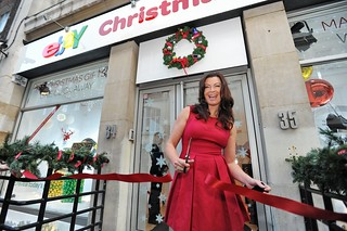 Suzi Perry opens the eBay Pop-up Shop | by ebayink
