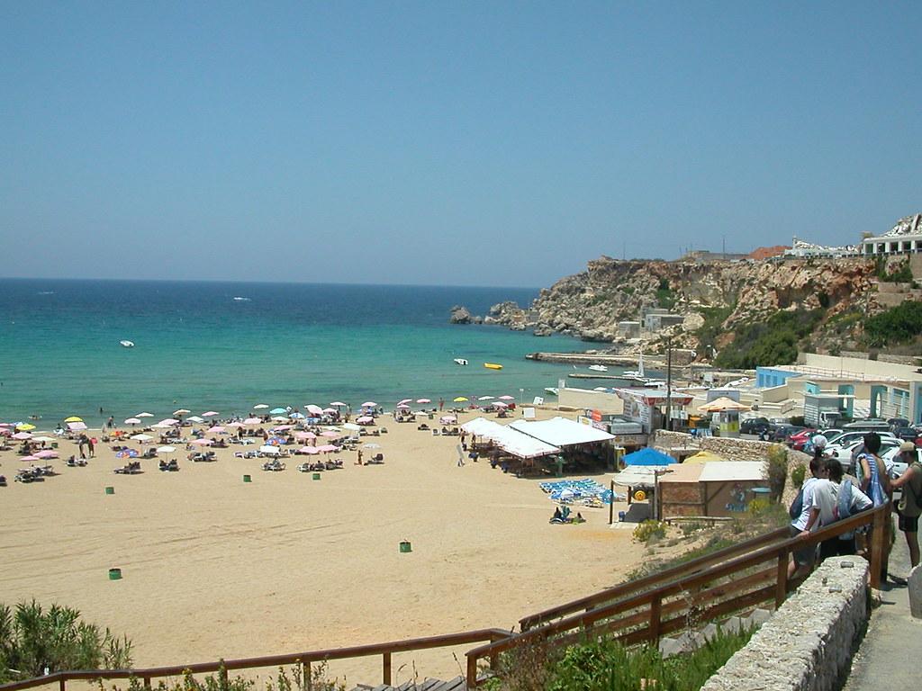 Malta Malia Bay Beach Image