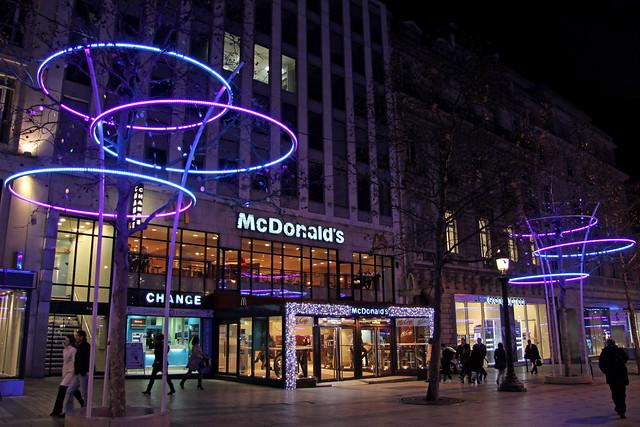mcdonalds paris champselys233es france flickr photo