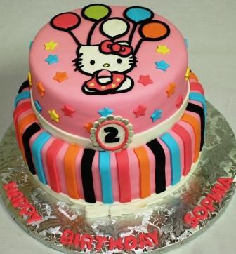 3 Tier Birthday Cakes