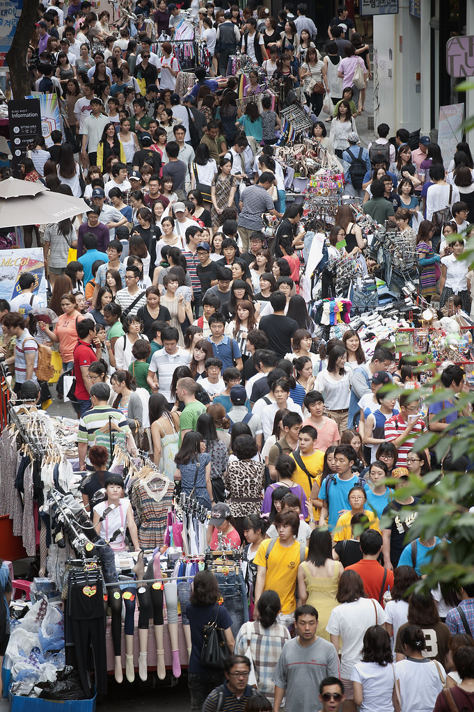 What Are The Years Of The Generations >> Korea and a World Population of 7 Billion | A throng of shop… | Flickr