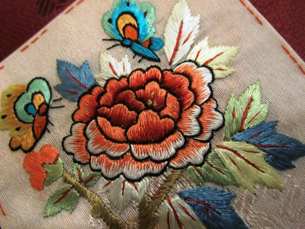 Korean Flower Embroidery Korean Flower Embroidery