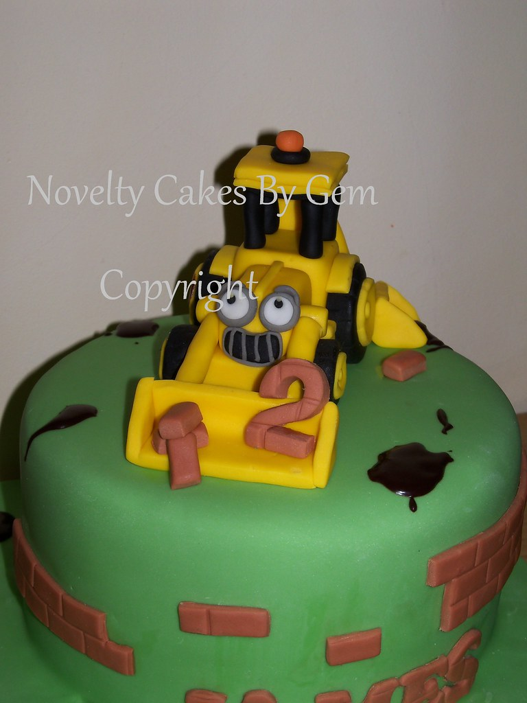 Scoop Bob The Builder Cake Digger Come Find Me On My