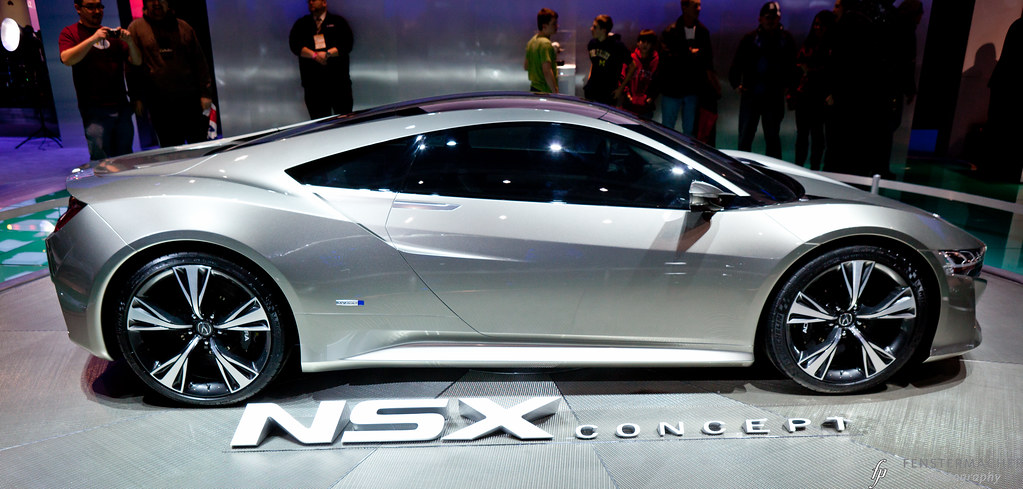 Acura NSX Concept - Side | Acura NSX Concept at the Detroit … | Flickr