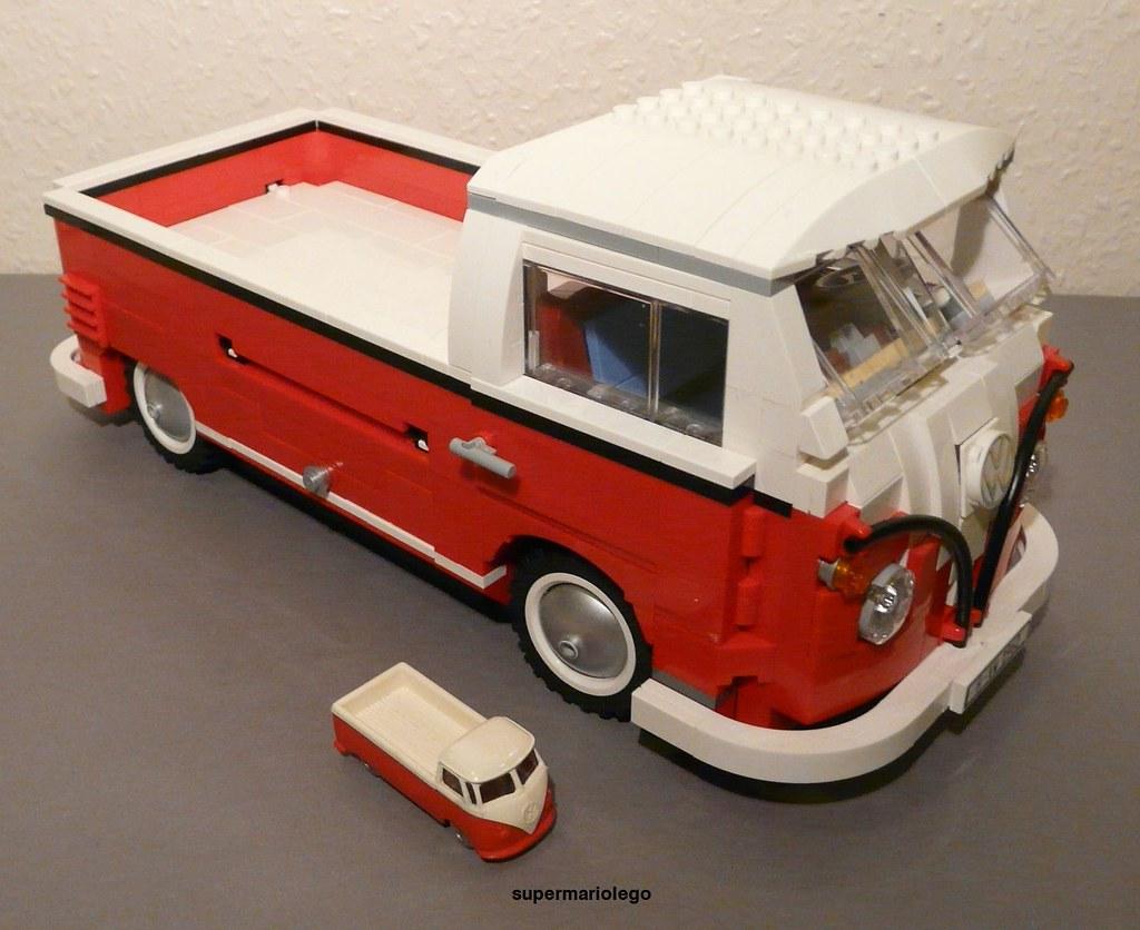 Lego Vw T1 Pickup Lego Vw T1 Pickup Transporter Made Of