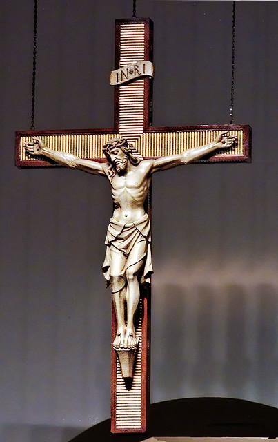 Crucifix from St Francis Xavier Roman Catholic Church ...