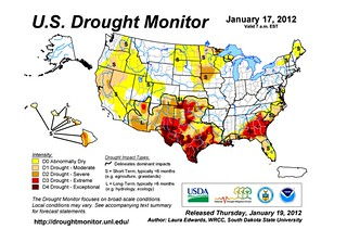 us drought monitor 1-17-2012 | by mapei