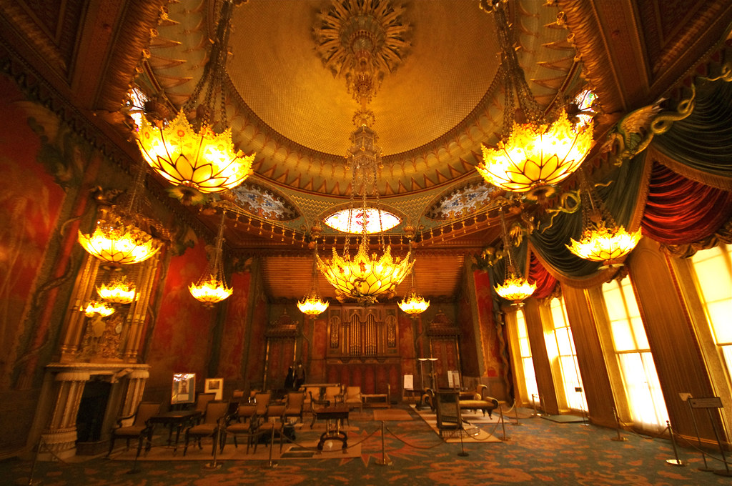 The Music Room At The Royal Pavilion A Cheeky Little