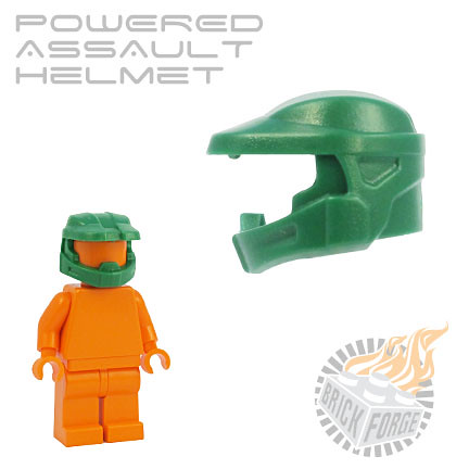 Powered Assault Helmet - Green | by BrickForge