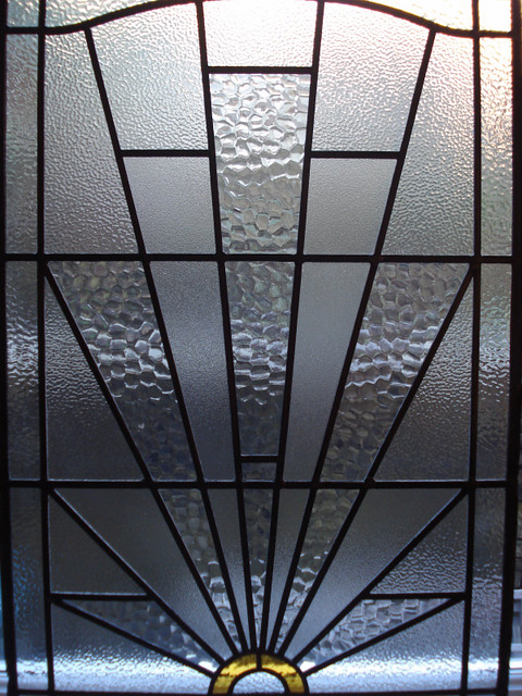 DSC05934 Art Deco Stained Glass  Flickr - Photo Sharing!