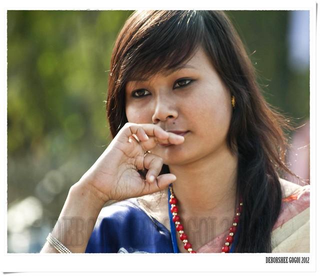 Assamese Girl  Flickr - Photo Sharing-4238