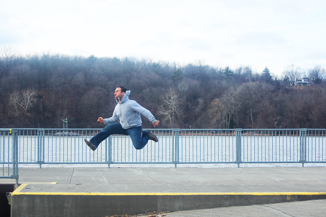 Schodack Island State Park_Me Jumping