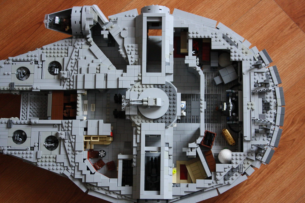 YT-1300 Internal Overview   Overall shot with exterior