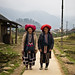 ... and they wore red turbans, Taphin Village - Sapa
