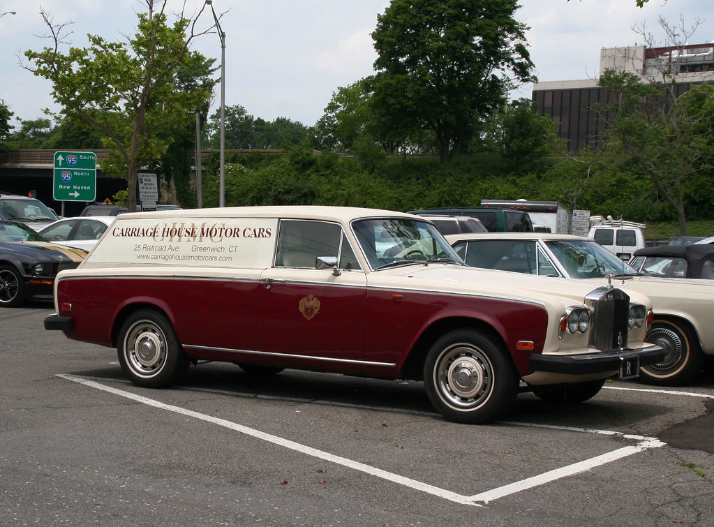 "1979 Rolls-Royce Silver Shadow shooting brake | The ""shop ..."